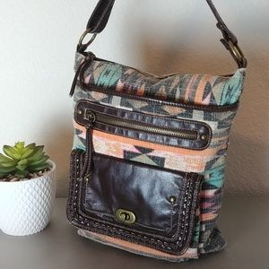 Maurice's Tribal Aztec Crossbody Purse